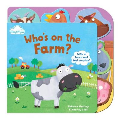 Who's on the Farm - Touch-and-feel Tabbed Board Book 1 (Board book)