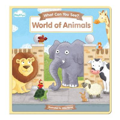World of Animals - What Can You See? 4 (Rag book)