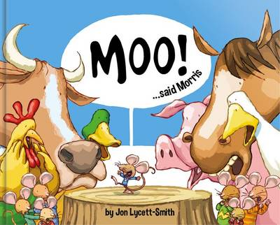 Moo! Said Morris (Paperback)