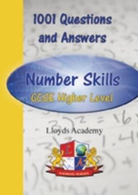 1001 Maths Questions & Answers: Number Skills GCSE Higher Level - 1001 Questions and Answers 15 (Paperback)