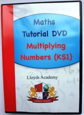 Maths Tutorial: Multiplying Numbers (KS1) (DVD)
