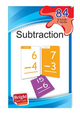 Subtraction (Bright Flash Cards) - Bright Flash Cards