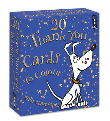 Colour Your Own Thank You Cards - Colour Your Own