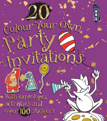 Colour Your Own Party Invitations - Colour Your Own