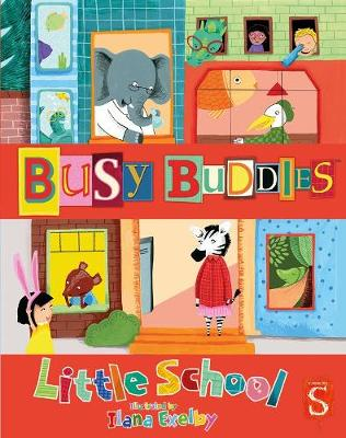 Little School / Go On Holiday - Busy Buddies (Hardback)