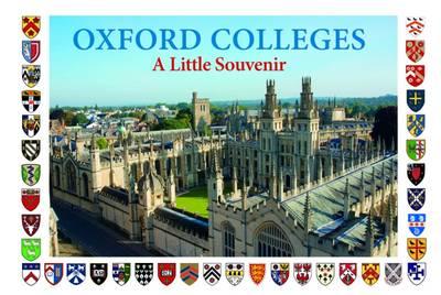 Oxford Colleges: Little Souvenir Book (Hardback)