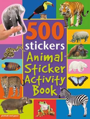 Bumper Animal Sticker Activity Book - Bumper Sticker Activity Books (Paperback)