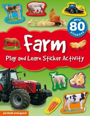 Farm - Play and Learn Sticker Activity (Paperback)
