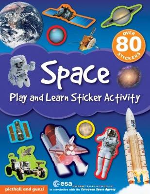 Space - Play and Learn Sticker Activity 5 (Paperback)