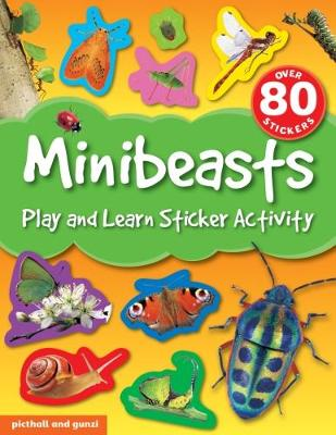 Minibeasts - Play and Learn Sticker Activity 4 (Paperback)