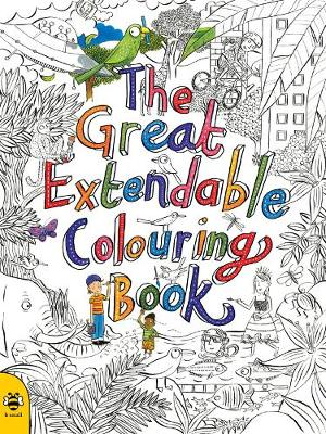 The Great Extendable Colouring Book - Extendable Colouring Books 1 (Paperback)