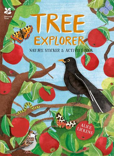 Tree Explorer: Nature Sticker & Activity Book (Paperback)