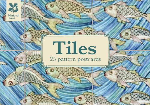 Tiles Design Postcard Book - National Trust Art & Illustration