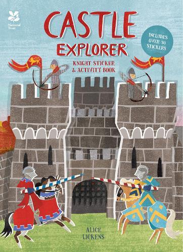 Castle Explorer: Knight Sticker & Activity Book (Paperback)