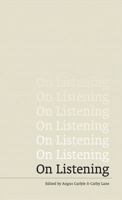 On Listening (Paperback)