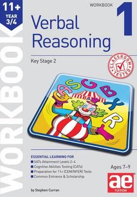11+ Verbal Reasoning Year 3/4 Workbook 1 (Paperback)