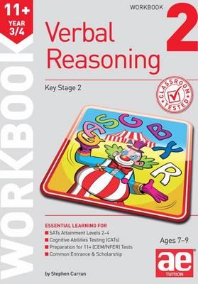 11+ Verbal Reasoning Year 3/4 Workbook 2 (Paperback)