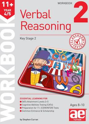 11+ Verbal Reasoning Year 4/5 Workbook 2 (Paperback)
