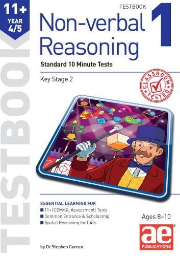 11+ Non-verbal Reasoning Year 4/5 Testbook 1: Standard Short Tests (Paperback)