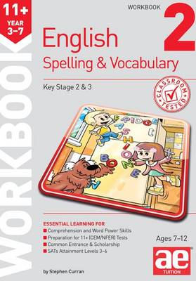 11+ Spelling and Vocabulary Workbook 2: Foundation Level (Paperback)
