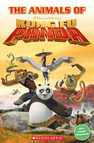 The Animals of Kung Fu Panda - Popcorn Readers (Paperback)