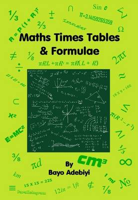 Maths Times Tables & Formulae (Paperback)