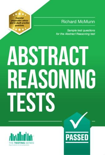 Abstract Reasoning Tests: Sample Test Questions and Answers for the Abstract Reasoning Tests (Paperback)