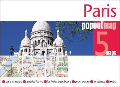 Paris PopOut Map - PopOut Maps (Sheet map, folded)