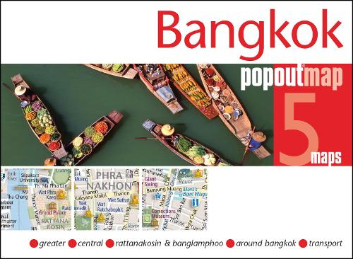 Bangkok PopOut Map - PopOut Maps (Sheet map, folded)
