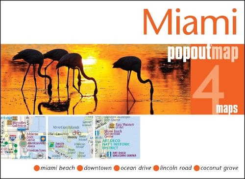 Miami PopOut Map - PopOut Maps (Sheet map, folded)