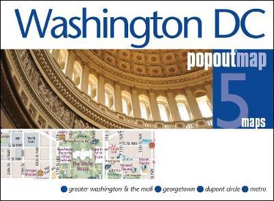 Washington DC PopOut Map - PopOut Maps (Sheet map, folded)