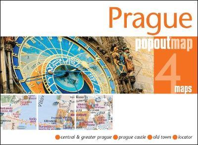 Prague PopOut Map - PopOut Maps (Sheet map, folded)