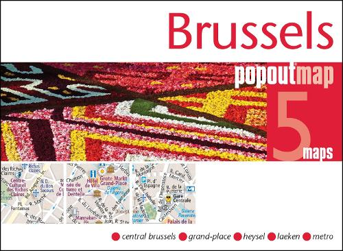 Brussels PopOut Map - PopOut Maps (Sheet map, folded)