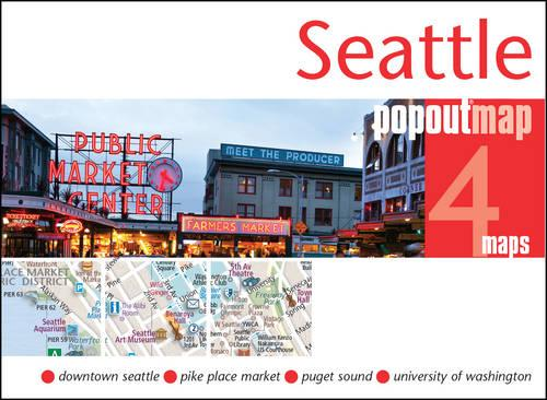 Seattle PopOut Map - PopOut Maps (Sheet map, folded)