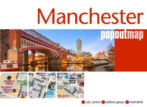 Manchester PopOut Map - PopOut Maps (Sheet map, folded)