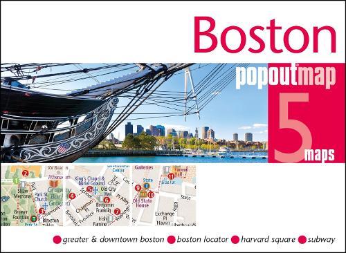 Boston PopOut Map - PopOut Maps (Sheet map, folded)