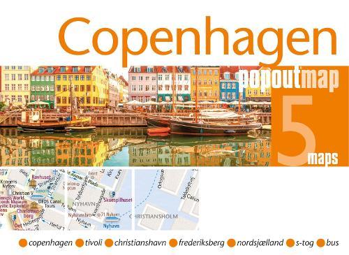 Copenhagen PopOut Map - PopOut Maps (Sheet map, folded)