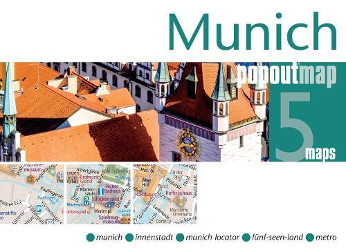 Munich PopOut Map - PopOut Maps (Sheet map, folded)