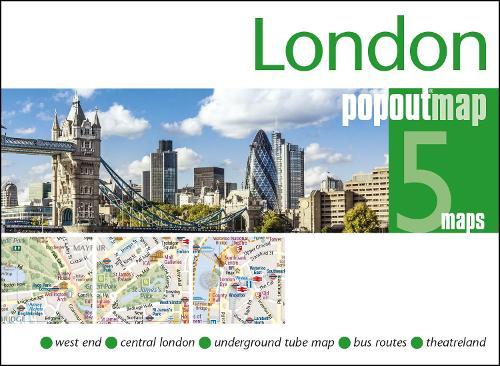 London PopOut Map - PopOut Maps (Sheet map, folded)