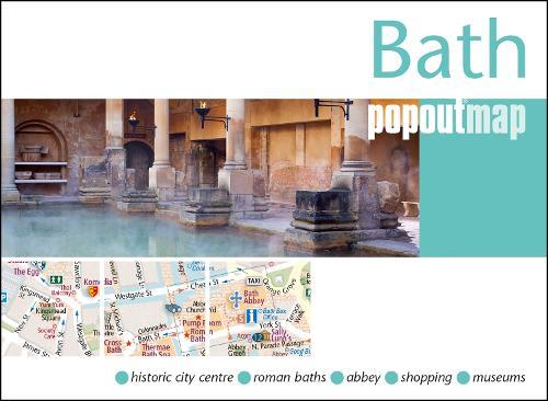 Bath PopOut Map - PopOut Maps (Sheet map, folded)