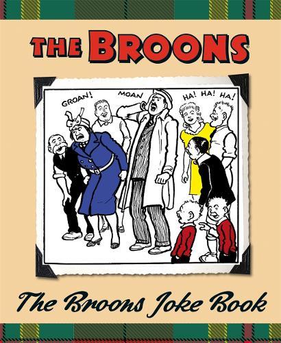 The Broons Joke Book (Hardback)