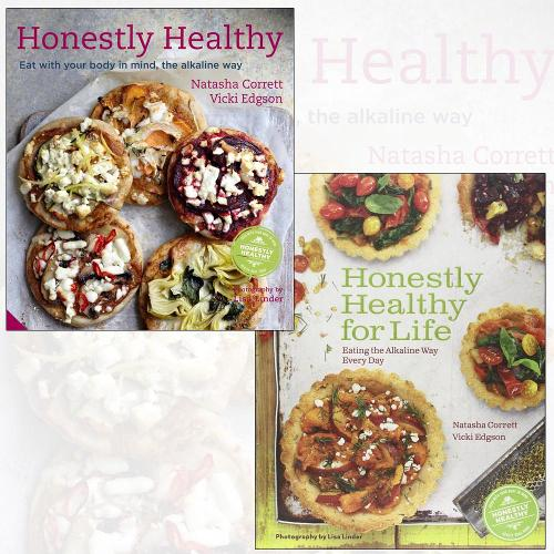 Honestly Healthy Cookbook Collection 2 Books Set, (Honestly Healthy for Life: Healthy Alternatives for Everyday Eating and Honestly Healthy: Eat with your body in mind, the alkaline way) (Hardback)