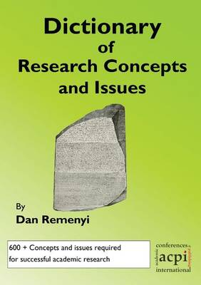 A Dictionary of Research Terms and Issues (Paperback)