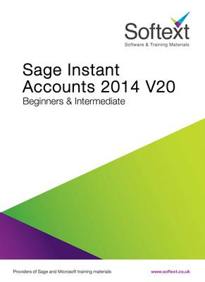 Sage Instant Accounts V20 2014 Training Manual (Spiral bound)