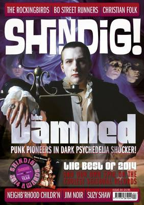 Shindig! No.44 - The Damned: Punk Pioneers in Dark Psychedelia Shocker! (Paperback)