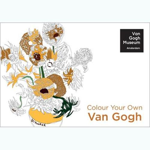 Colour Your Own Van Gogh - Colouring Books (Paperback)