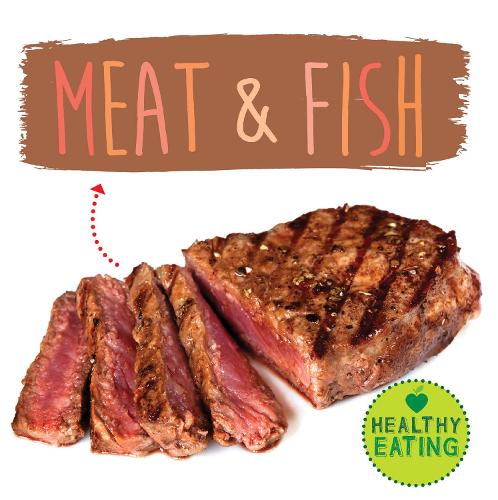 Meat and Fish - Healthy Eating 5 (Hardback)