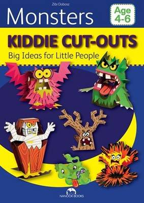 Monsters - Kiddie Cut-Outs-Big Ideas for Little People (Paperback)