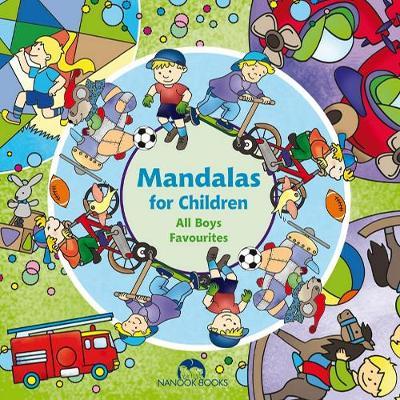All Boys Favourites - Mandalas for Children (Paperback)