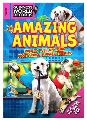 Guinness World Records 2018 Amazing Animals (Paperback)